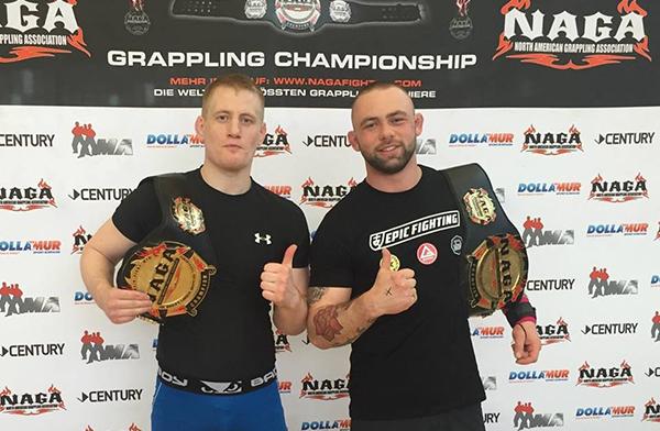 Svenska medaljer på NAGA UK Grappling Championship 2016