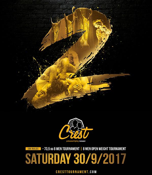 Crest – Professional Fighting Tournament II äger rum i september